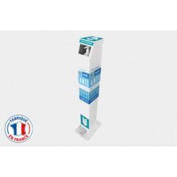 Borne gel hydroalcoolique