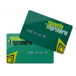 Carte PVC RFID