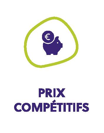 Prix compétitifs